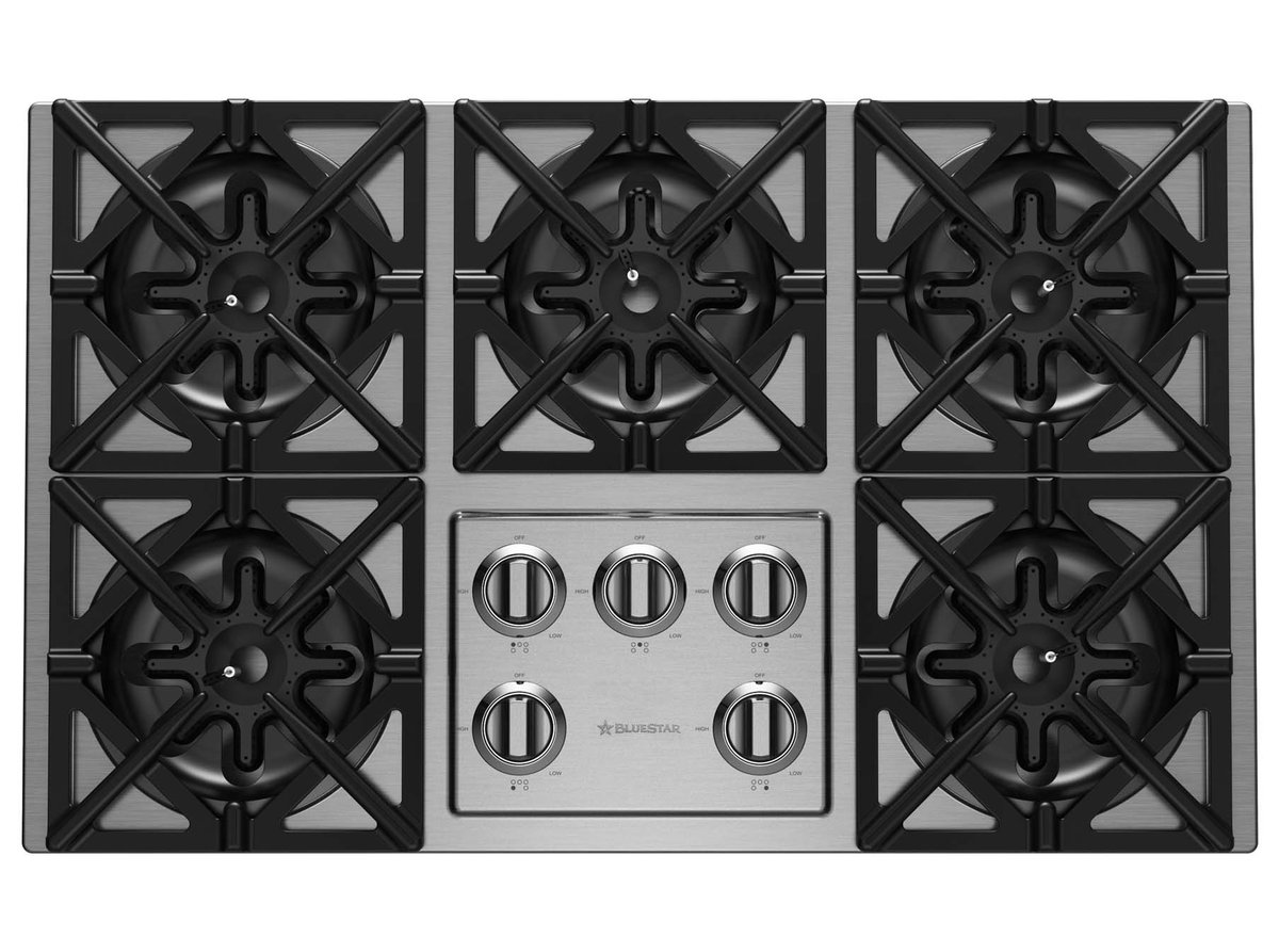 The Bluestar Cooktop Series Delivers