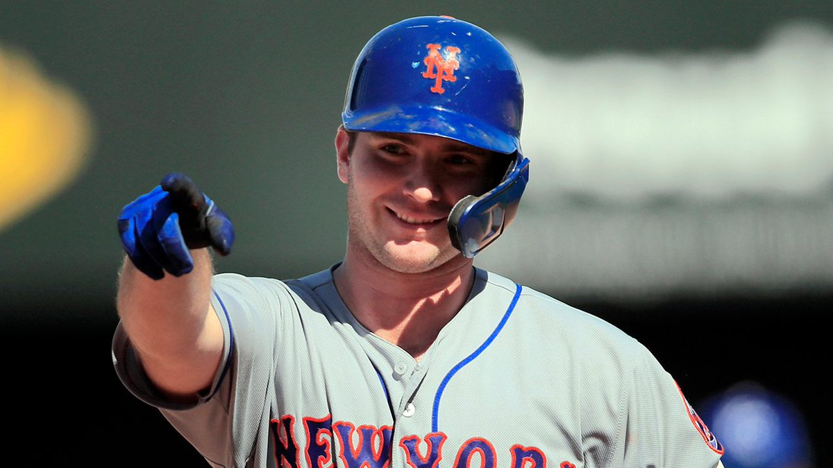 #Mets Pete Alonso becomes the 3rd rookie in MLB history to hit 40 home runs in a season. He also breaks the NL rookie record for most homers in a season. #LGM