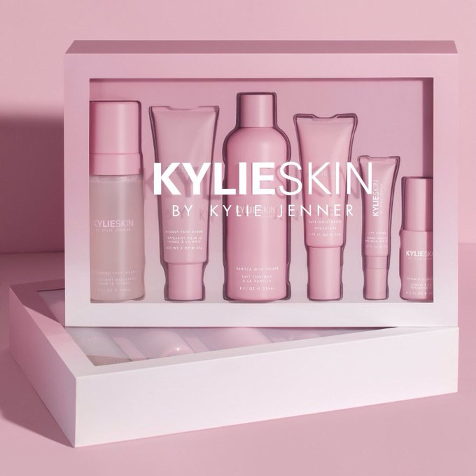 my @kylieskin  sets are BACK and selling fast!! Get yours at  http://KylieSkin.com   before theyre gone!