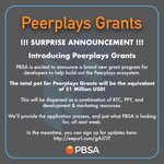 Image for the Tweet beginning: Surprise announcement from PBSA!   Be