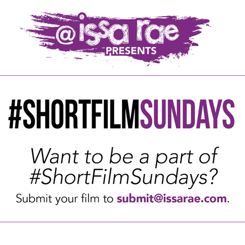 Here's how to submit your short film for our #ShortFilmSundays showcase!