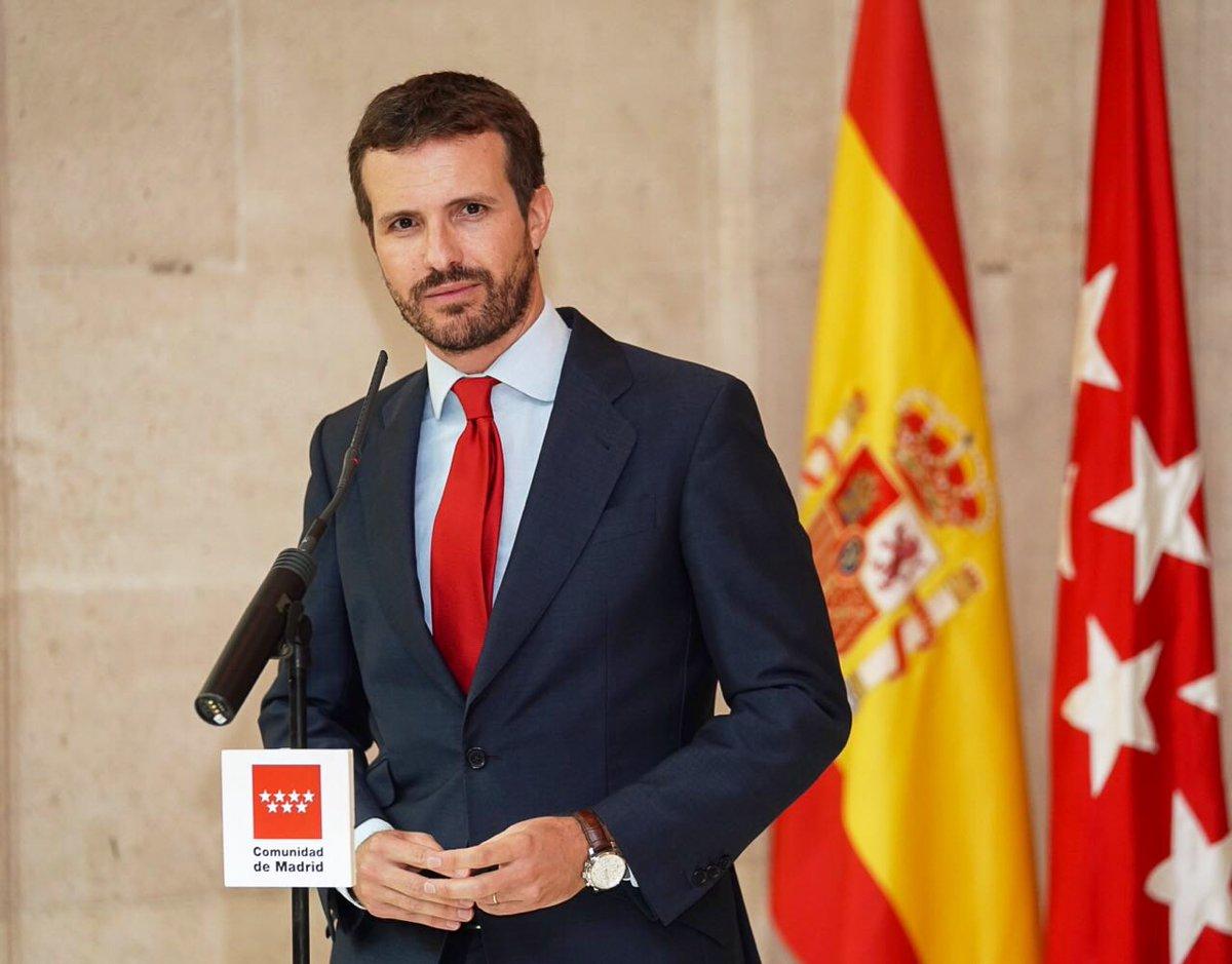 Pablo Casado droite espagnole