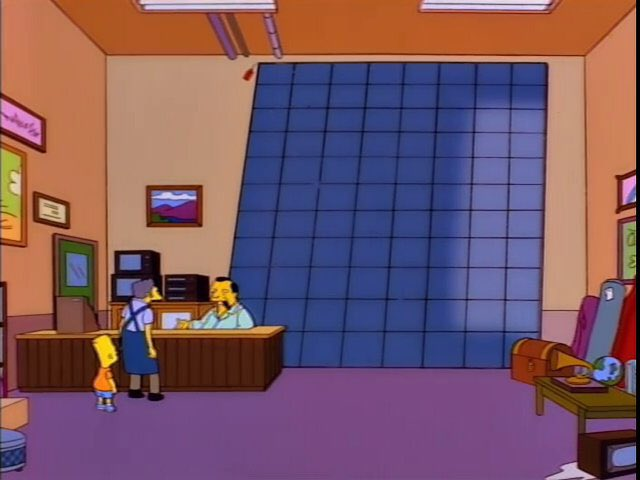 """You gotta give me back my floor! My customers are walking around on the pipes!"""" """"Hey, next time, pay your bills."""""""