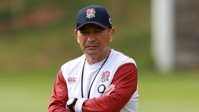 """test Twitter Media - 🗣️ """"I think we all thought that was the law. So maybe the yellow card should have gone to the referee.""""  🔎 Eddie Jones discusses George North's match-winning try and how England should be good enough to cope with any situation.  Read more: https://t.co/VSRbSWf27c https://t.co/cCKoC9HnQ9"""