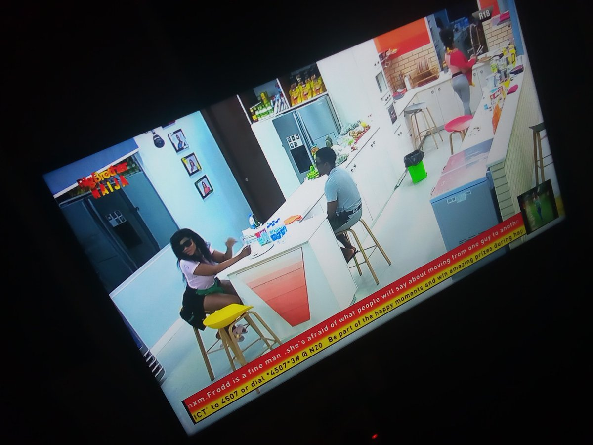 #bbnaija Natacha & Sugar DaddyBoth are always homely with each other... Natacha lowers that defence whenever she's around Seyi. And Tacha is pretty by d way <br>http://pic.twitter.com/hObVAGqtu2