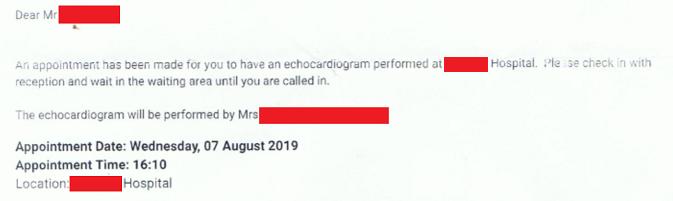 NHS début datation Scan rencontres pour 1 an et non je t'aime