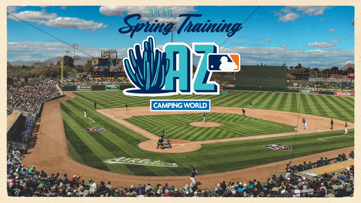 2020 Mlb Spring Training.Oakland A S V Twitter It S Never Too Early To Start