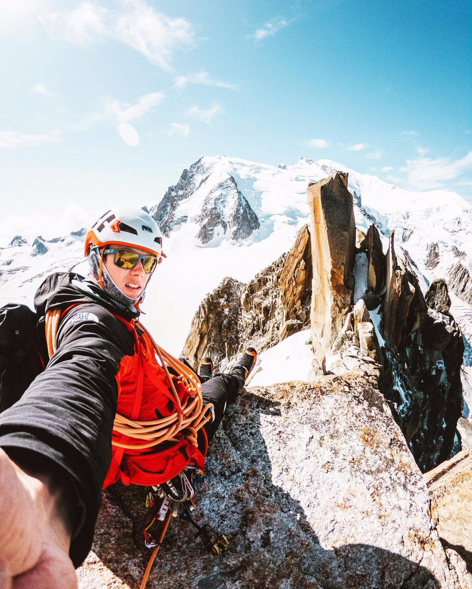 To celebrate #WorldPhotographyDay, we asked mountain guide and The North Face photographer, Mathis Dumas, to share the GoPro Hero 7 settings he recommends for capturing the ultimate summit selfie: RAW ISO Max 100 GoPro Colour WB Auto Sharpening low 3-sec timer #NeverStopExploring