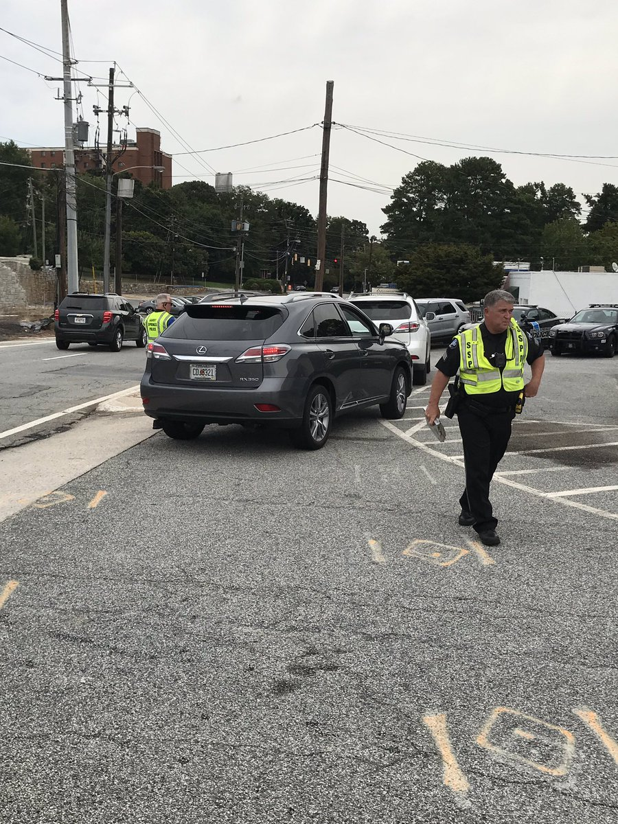The Sandy Springs Police Traffic unit is currently citing drivers for hands free violations.