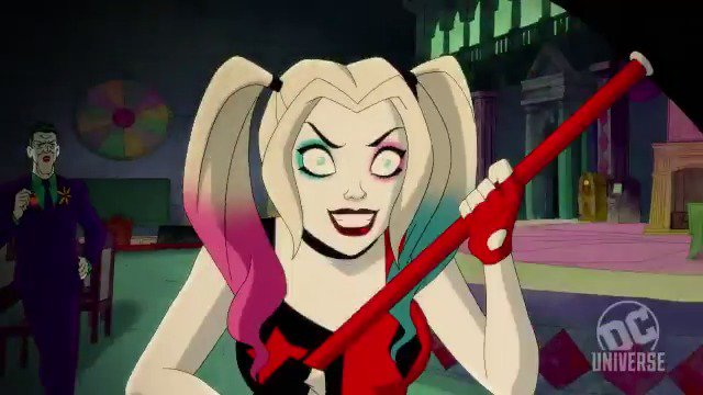 Don't piss yourself. Here's a taste of a behind-the-scenes look at #DCUHARLEYQUINN coming soon to #DCUNIVERSE.