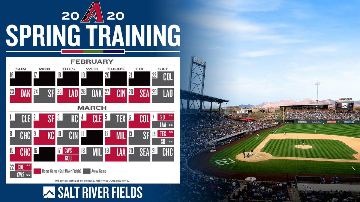 Arizona Diamondbacks Spring Training 2020.O Xrhsths Arizona Diamondbacks Sto Twitter The 2020