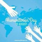 Image for the Tweet beginning: On World Humanitarian Day 2019