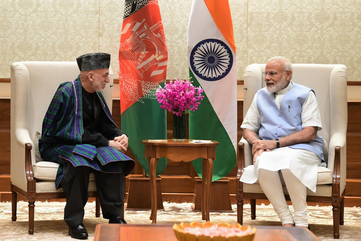 Had a wonderful meeting with my friend and Afghanistan's former President, Mr. @KarzaiH.   https://t.co/zvoVXrfCqr https://t.co/Rl3vLoOCYS