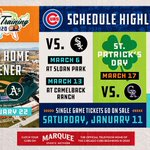 The #Cubs 2020 #SpringTraining schedule has been released! 🌵⚾️  See you in Mesa: https://t.co/4t4jqzpS8w