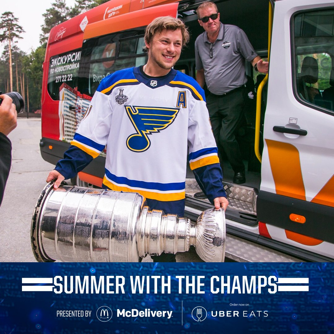 📍 Novosibirsk, Russia #stlblues #StanleyCup