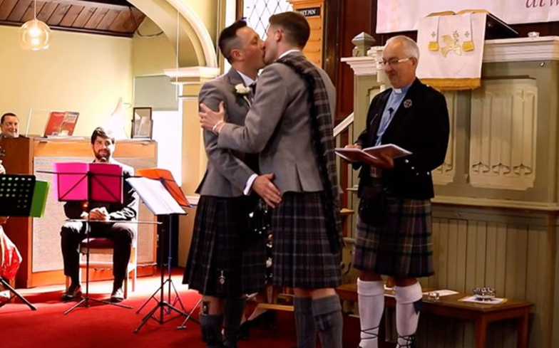 Songs of Praise to feature the show's first ever same-sex marriage. gaytimes.co.uk/community/1260…