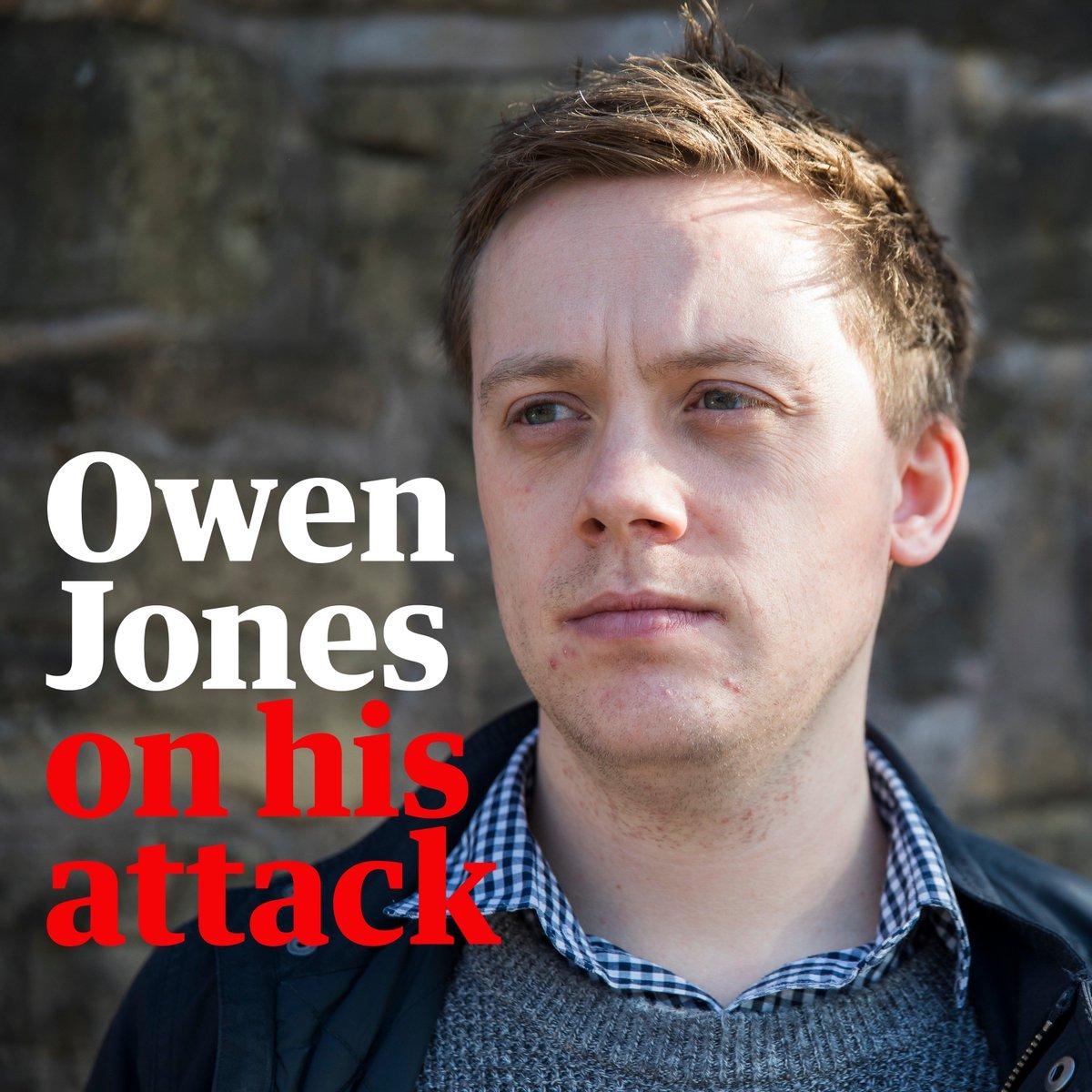 Guardian journalist @OwenJones84 on his attack: I get headlines. Many minorities dont