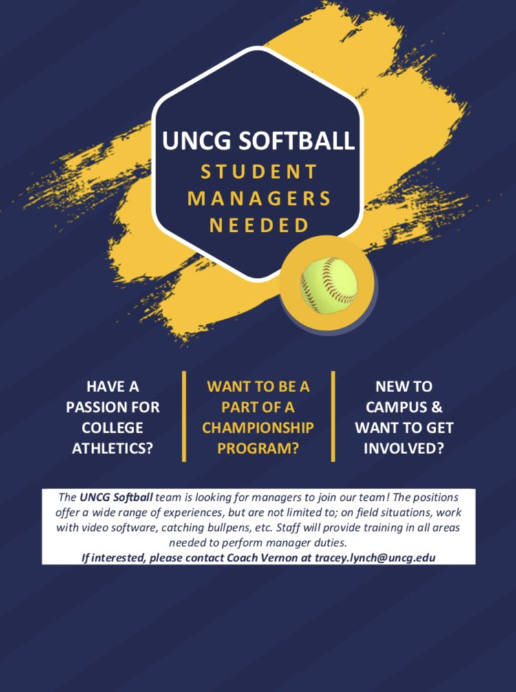 Uncg Final Exam Schedule Spring 2020.Uncg Softball Uncgsoftball Twitter