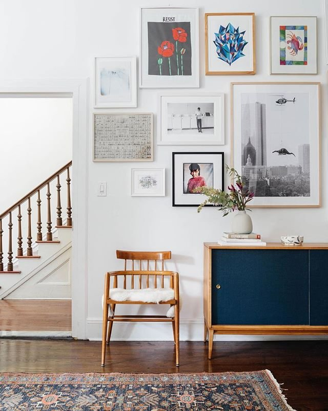 """Tip #5: """"If you love the look of vintage, buy pieces for their shape. You can always get the piece refinished or reupholstered.""""   Read Our 37 Best Interior Design Tips Ever:  https://t.co/ab1Ztf8PDL https://t.co/tf1M4HKHTz"""
