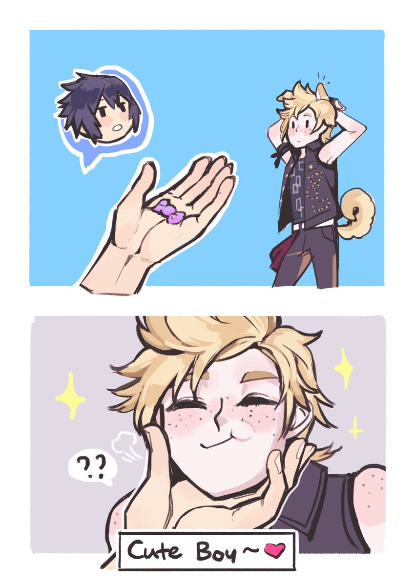 RT @soursoppi: and they all lived happily ever after  #FFXV #FF15 https://t.co/PkJlptTo0z