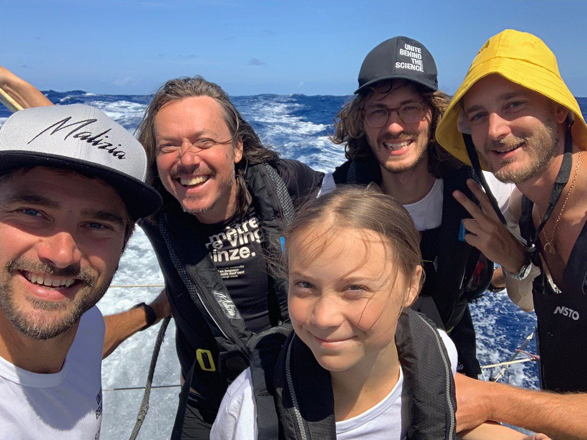 Day 6. Sunshine sailing north of the Azores!
