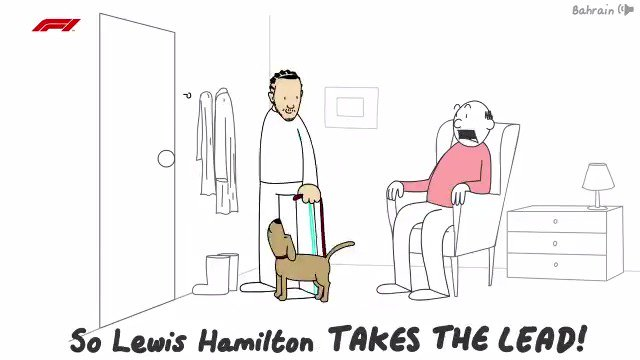 F1 CAR-TOON  Get it? 🤔😉  It's the first half of the 2019 season, as you've never seen it before 👀😂  #F1