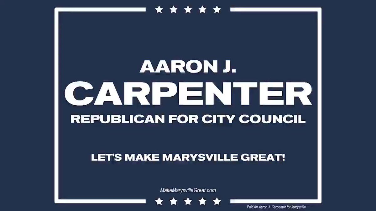 I'm running for City Council in Marysville, OH!  I am a Christian, conservative, Republican, fmr. @Jim_Jordan intern, and proud supporter of our President @realDonaldTrump! Help me advance conservative leadership in the Buckeye State — please follow and RT! #MakeMarysvilleGreat🇺🇸