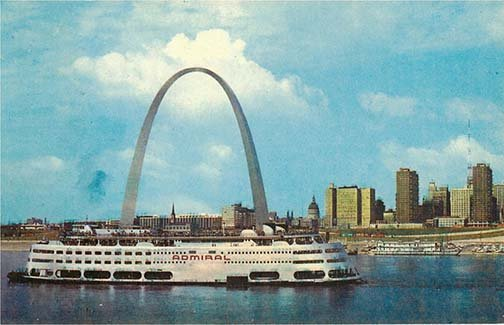 If I were @MLS4theLou or the @XFLStLouis I would seriously name the team the St. Louis Admirals because The Admiral was a familiar sight on the St. Louis Riverfront and was a St. Louis fixture from 1940 through the 70s until it stopped cruising in 1980.