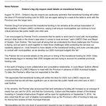 Image for the Tweet beginning: #LUMCO Press Release regarding Premier