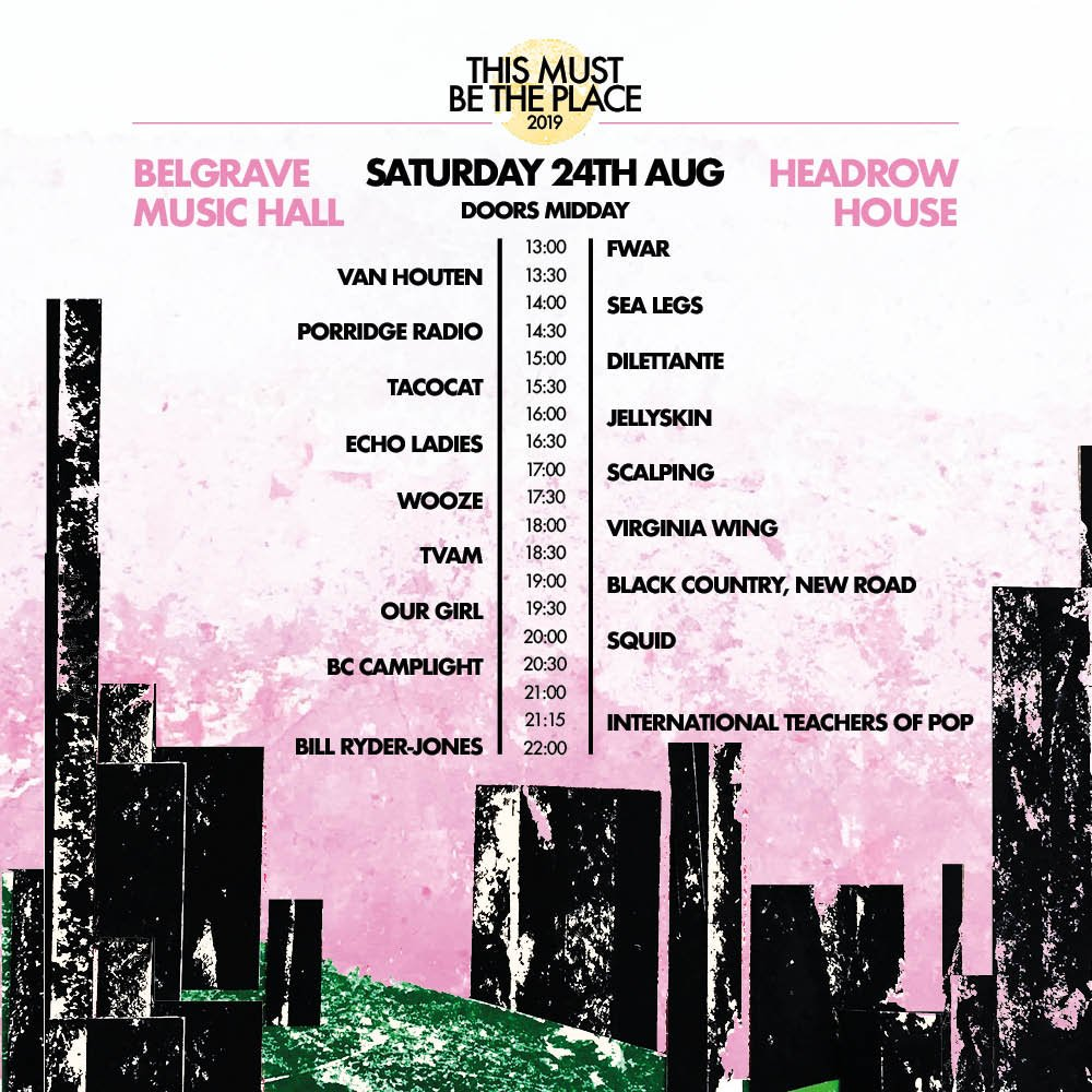 UK friends! Were playing This Must Be the Place this Saturday, August 24th! Grab your tickets below and come party with us! dice.fm/festival/this-…