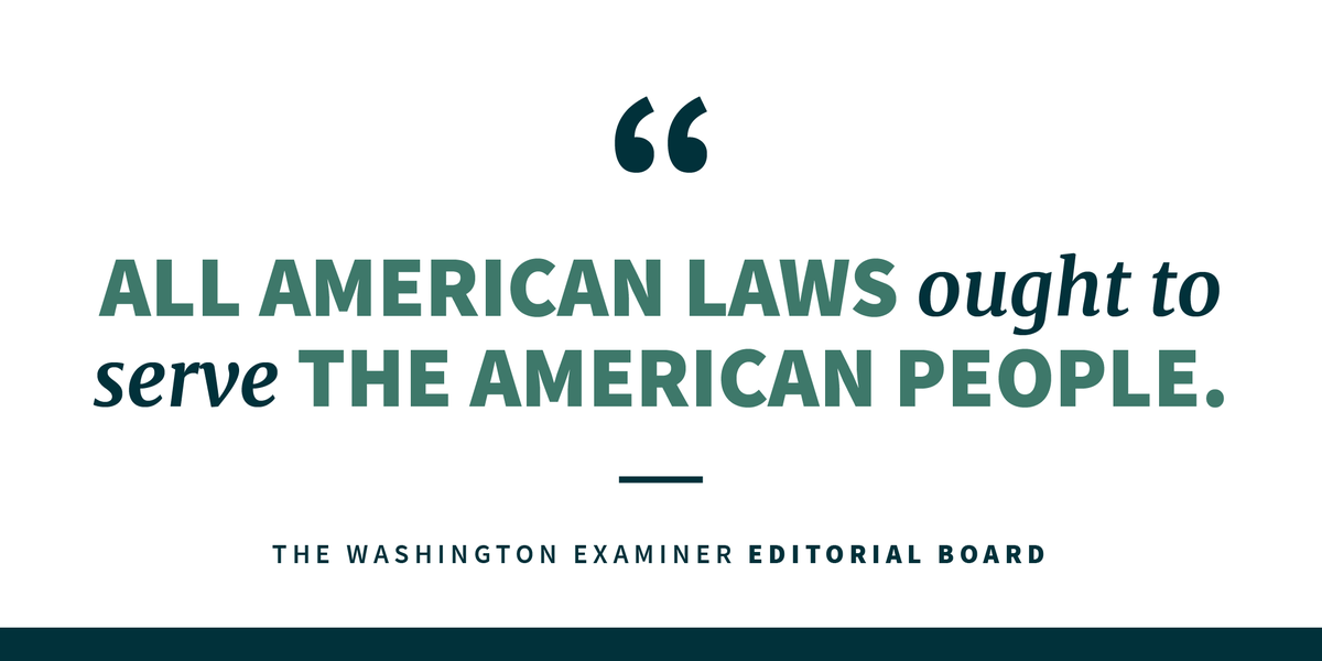 Foreign individuals should not be allowed to come to America in order to take advantage of its welfare programs, the Washington Examiner editorial board writes.   This shouldnt be a controversial statement.  Todays stories:  http://45.wh.gov/8V3xFi