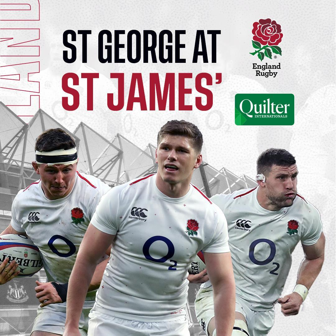 test Twitter Media - Last stop before Japan ✈  Watch England take on Italy at St. James' Park in the #QuilterInternationals on Friday 6 September 🌹  Tickets: https://t.co/U6lg9XHCZr https://t.co/z8Nm3P7Xs2
