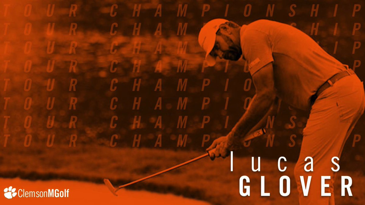 Ticket punched. Lucas Glover is on his way to the Tour Championship. #ClemsonFamily <br>http://pic.twitter.com/fd9dlZcYWM
