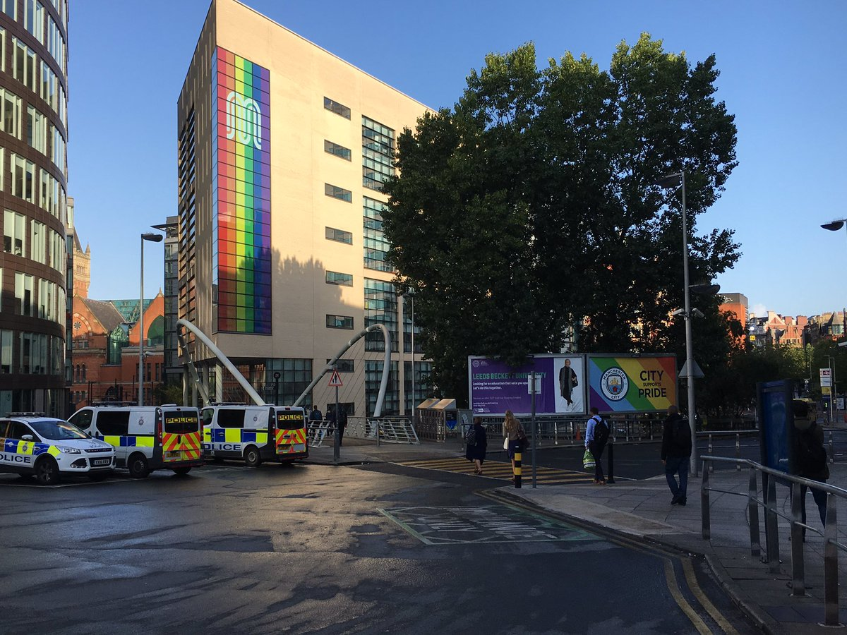 Major businesses showing their #pride in the run up to @ManchesterPride! Well done