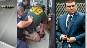 5 Years Later STILL CAN'T BREATH #LockUpTheMF for the MURDER of Eric Garner. Daniel Pantaleo CHOKED Eric Garner to DEATH. Pantaleo will receive what he paid into his pension BUT should NOT be able to SPEND it. #LockHimUp @cspanwj<br>http://pic.twitter.com/T3NAXejcWd