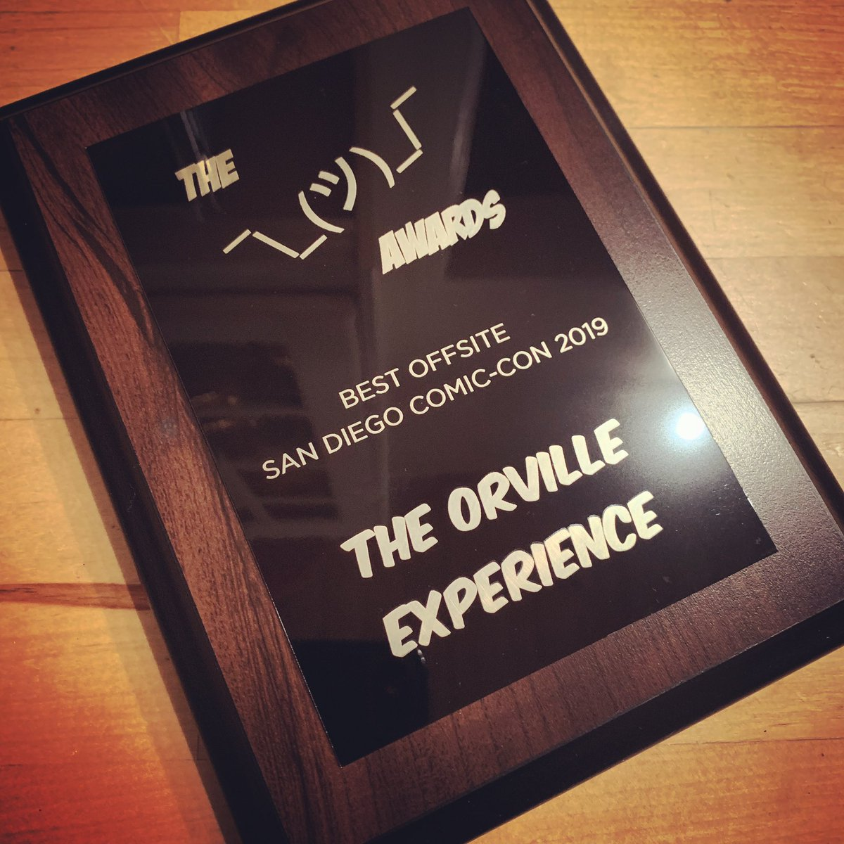 Thanks to @SD_Comic_Con, @OutsideComicCon and all who voted. Let's see what 2020 brings. @SethMacFarlane @TheOrville @planetary_union @Brooki_eh @stjerome610 @GDNaturedVLLN @theChristiA2 @MacKenzieRLC #TheOrville #theorvilleexperience #SDCC2019  <br>http://pic.twitter.com/oTHHr7h2QC – à Fox Studios