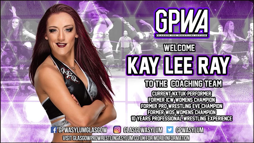 Welcome To The Asylum - @Kay_Lee_Ray !