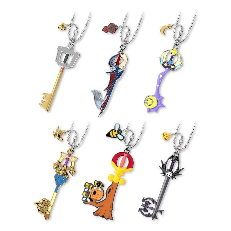 The #KingdomHearts Keyblade Collection Vol. 2 by Bandai is here! The collection features the Kingdom Key D, Way to the Dawn, Star Seeker, Pumpkinhead and more keyblades! Which is your favorite #KH keyblade? Order as sets or individually today!   https:// buff.ly/2YyLhlY     <br>http://pic.twitter.com/rzKlLlmbPj