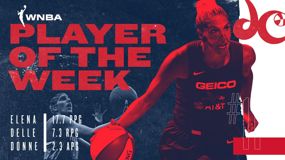 How many #WNBA Player of the Weeks does one have to win to be MVP? 'Cause @De11eDonne's got 6️⃣ 💪 #EDD4MVP