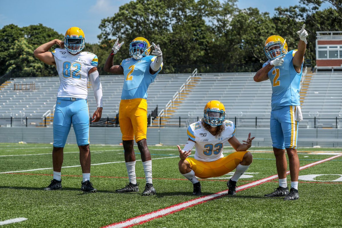 Your first look at our 2019 uniform sets . Ready for a historic first season in the blue and gold . #FinsUp <br>http://pic.twitter.com/j8tNUwqY8t