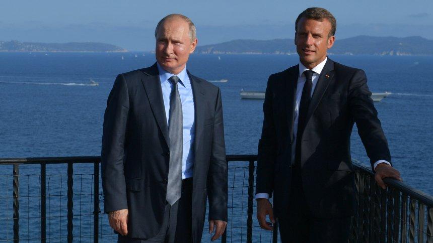 Vor dem G7-Gipfel: Macron schlägt Putin baldigesTreffen zur Ukraine vor https://t.co/TnqKT2wRGB https://t.co/fmxVwJ9BTT