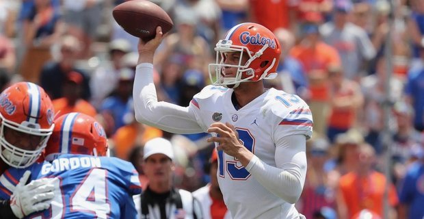 Dan Mullen doesn't praise his quarterbacks very often.  So his comments about the improvement Feleipe Franks made this offseason should raise some eyebrows - https://t.co/p6rZTO8sE2 #Gators https://t.co/xEEu7NZdz4