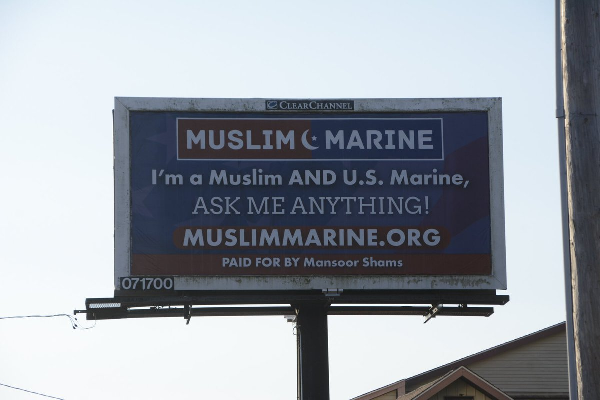 """""""I'm a Muslim AND US Marine, ask anything!"""" #MondayMotivation <br>http://pic.twitter.com/J9Ylnr1jhx"""