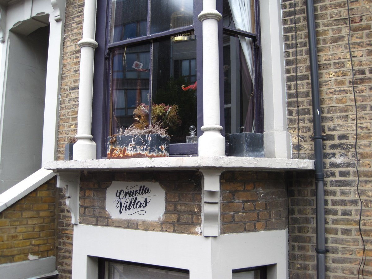 Cruella de Villas, Highbury, London.
