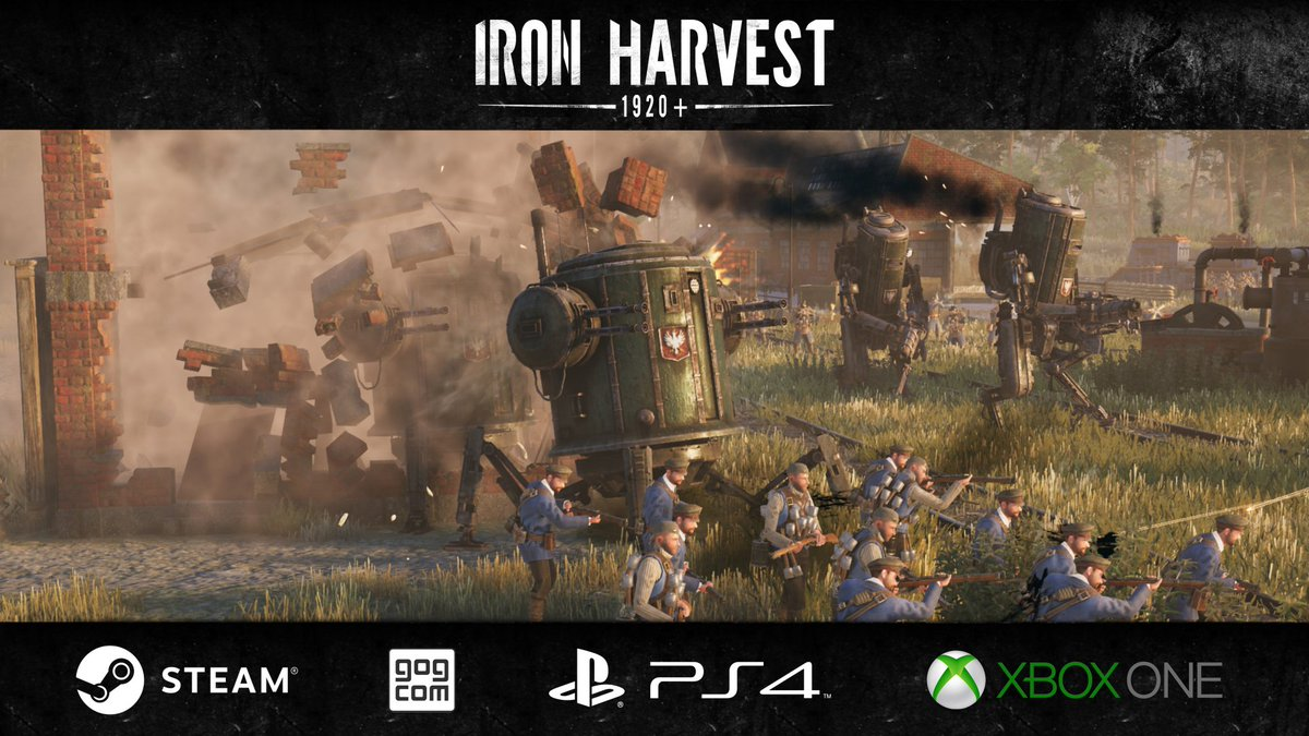 Iron Harvest RTS game