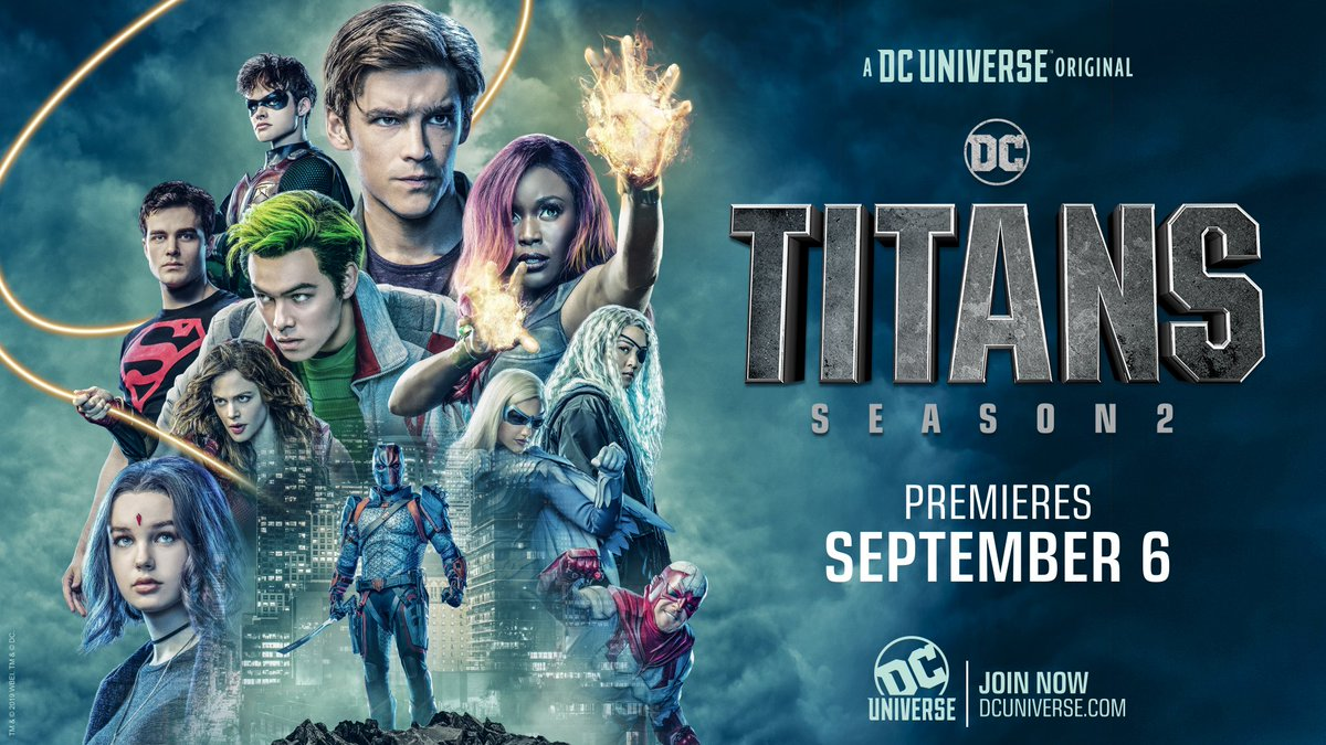 'Titans' S2 poster gives a new look at the expanded team  (via @DCUTitans)<br>http://pic.twitter.com/y3bQP0tY6V