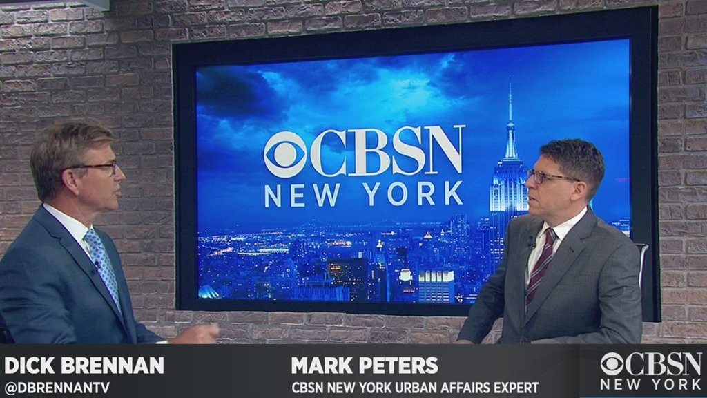 CBSN NEW YORK NOW: Urban affairs expert Mark Peters discusses Officer Daniel Pantaleos firing. Watch now: cbsloc.al/cbsnnewyork