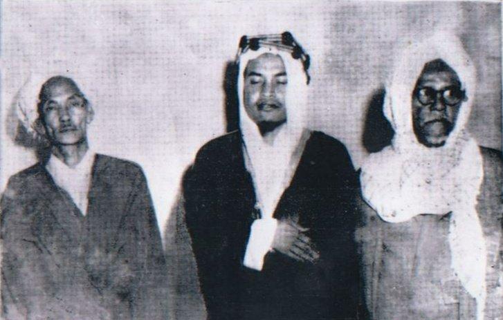 Dari Kiri, KH. Wahab Hasbullah (Jawa), Abuya Muda Waly (Aceh), dan Syaikh Hasan Krueng Kalee (Aceh)