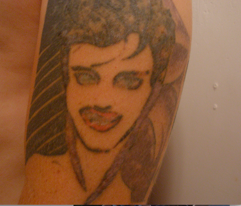 One of my tattoos before and after. Got it done in a sketchy basement when I was 17. Master tattoo artist @AmandaMarieFly fixed (cover up) it years later Yes! it's Patrick Negal's RIO.... from @duranduran #tattooart<br>http://pic.twitter.com/F4BfaKQ9Wk