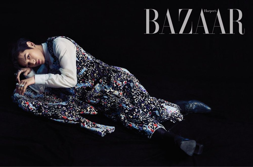 Harpers Bazaar drops edgy preview cuts of NCT Taeyongs first ever solo pictorial allkpop.com/article/2019/0…